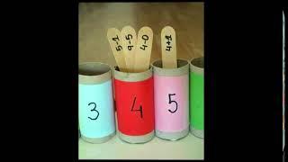 Basic Maths activity For Kids/Add + & - Subtract/Science game/Preschool & Kindergarden Activities