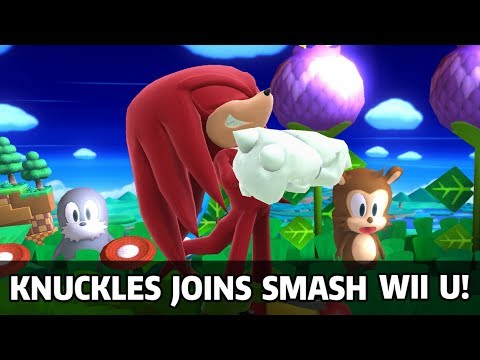 Complete Project M Knuckles Moveset Port - Super Smash Bros Wii U Mods & Knuckles