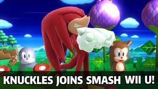 Complete Project M Knuckles Moveset Port - Super Smash Bros. Wii U Mods & Knuckles