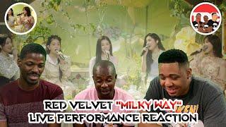 "Red Velvet ""Milky Way"" Live Performance Reaction"