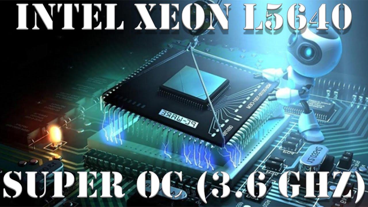 Разгон процессора Intel Xeon L5640, настройка BIOS