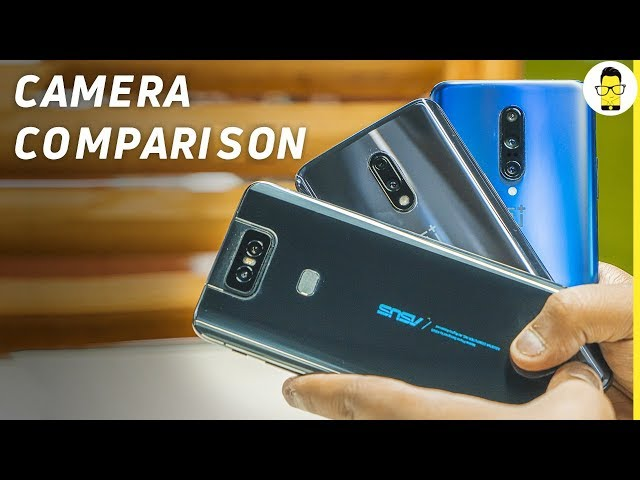 ASUS 6Z (ZenFone 6) vs OnePlus 7 Pro vs OnePlus 7 camera comparison: extremely close contest