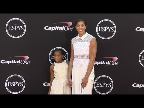 Candance Parker 2017 ESPY Awards Red Carpet