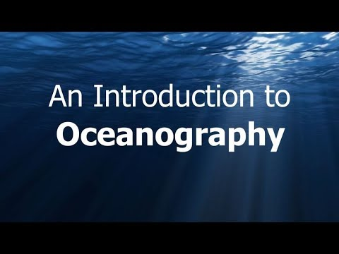 Oceanography  (Introduction)