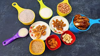 Baby food  Weight Gaining Protein Rich Laddu Recipe for Kids &amp Toddlers