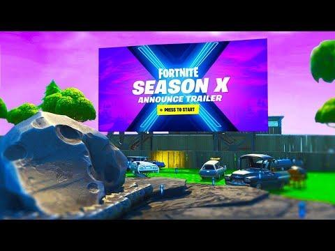 Fortnite Season X - Cinematic Trailer Reveal