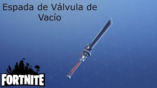 My Nature Sword / Vacuum Valve Sword ? Fortnite: Sauver le monde #443