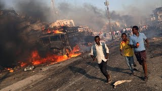Теракт в Могадишо: почти 300 погибших (новости)