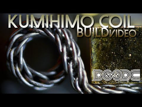 Episode Six - Braiding Pt. 2: The Kumihimo Coil