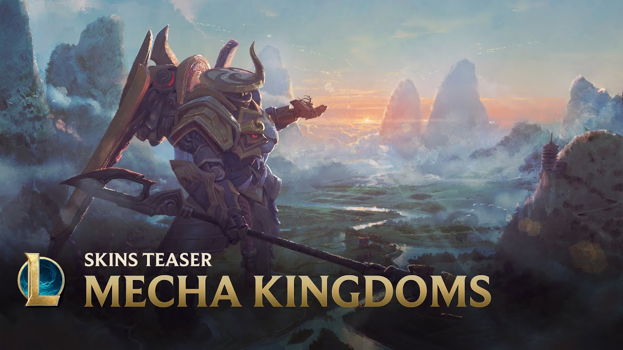 Mais alto   Teaser de Skins de Mecha Kingdoms - League of Legends + vídeo