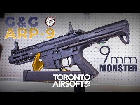G&G ARP 9 AEG Detailed Look Review - TorontoAirsoft.com