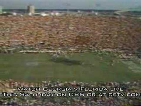 Georgia vs. Florida: 1980 Classic