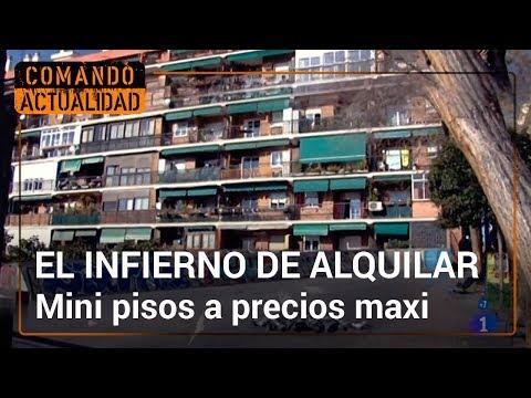 El infierno de alquilar piso en Madrid | Comando Actualidad