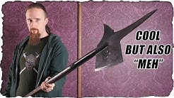 "The ""Get What You Pay For"" Halberd"