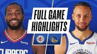 CLIPPERS at WARRIORS | FULL GAME HIGHLIGHTS | January 6, 2021