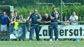 BZ Liga Gr3 DJK Blau Weiss Mintard vs FC Blau Gelb Überruhr 3 9 2017
