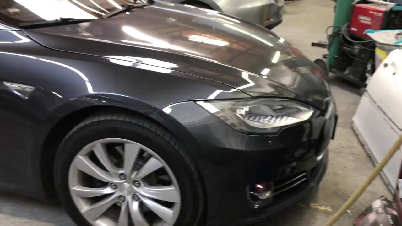 How to Remove 2015 Tesla Model S Rocker panel side skirt - Body Shop Basics
