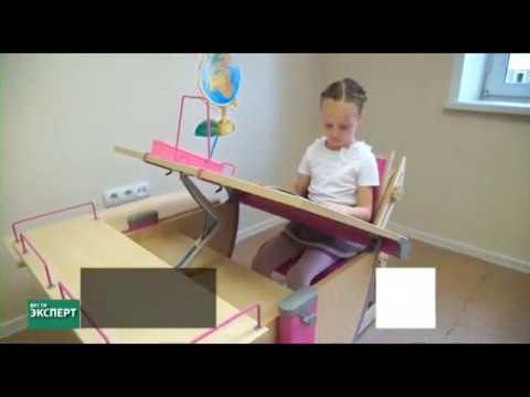 Растущие парты и стулья трансформеры для школьников (для дома)_Вести-Эксперт на Россия 24
