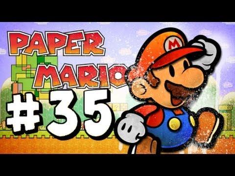 Paper Mario Nintendo 64 Walkthrough Part 35 Dark Days In Flower