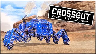Crossout - AWESOME & FUN Builds Built By The Computer (Crossout Gameplay Randomly Generated)