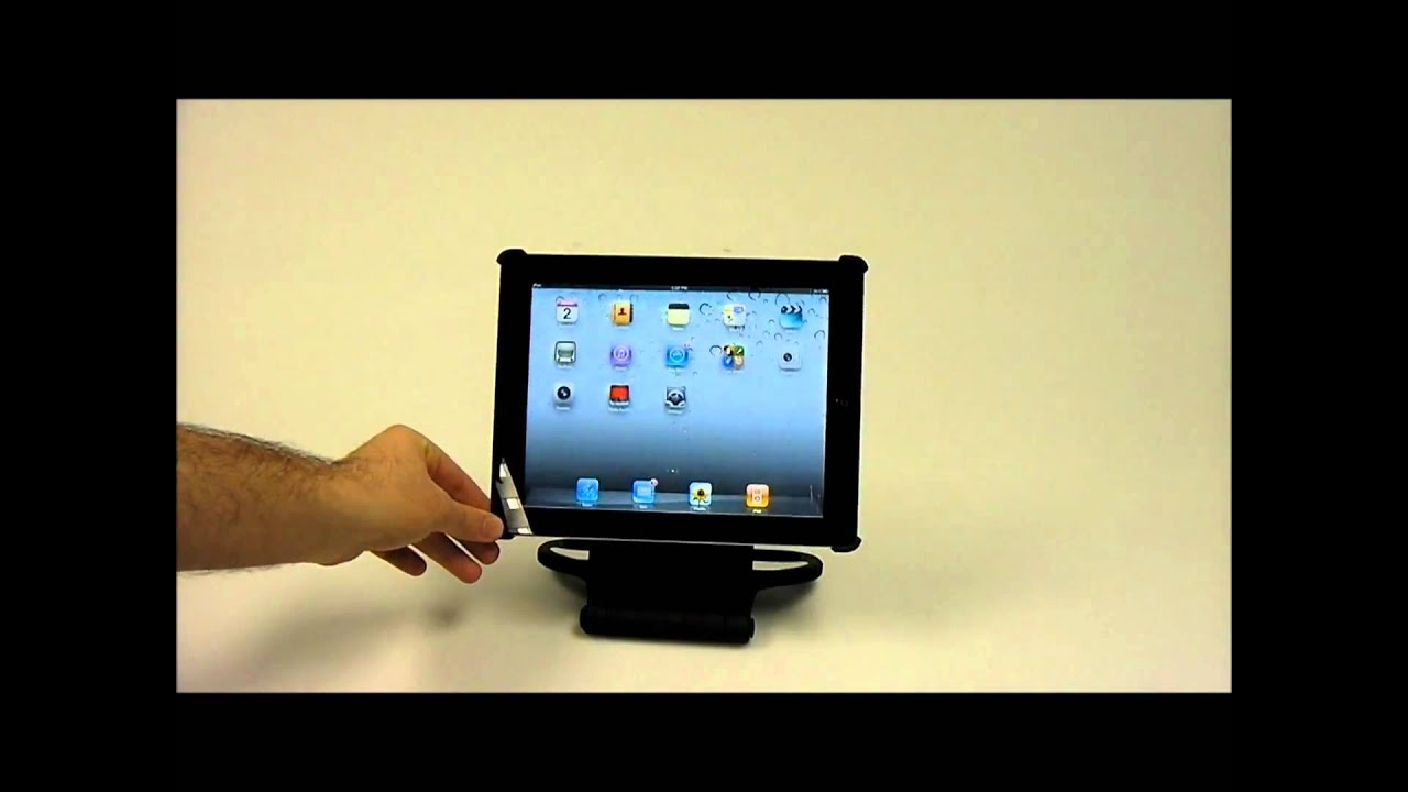 Merkury Innovations 360 176 Rotating Stand For Ipad 2 Youtube