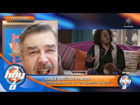 Jorge Ortiz confirma quinta temporada de 'Una familia de diez'   Hoy