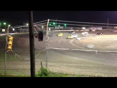 Factory Stock Feature part 2 Superbowl Speedway 4-15-17