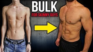 How to Build Muscle and BULK For SKINNY GUYS (Workout and Diet!!)
