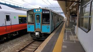 青い森鉄道701系 青森発車