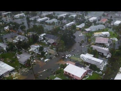 Florida's coastal cities left in shambles after Hurricane Irma