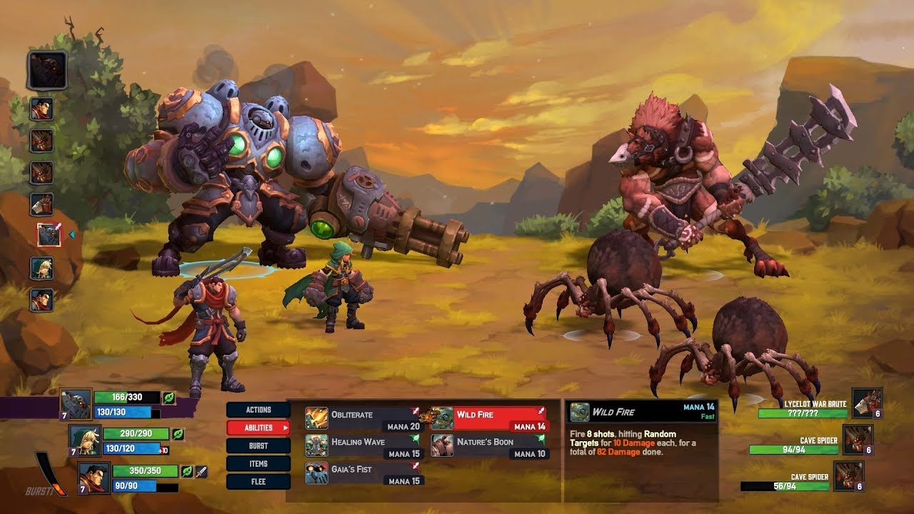 Battle Chasers Nightwar Trainer Free Download