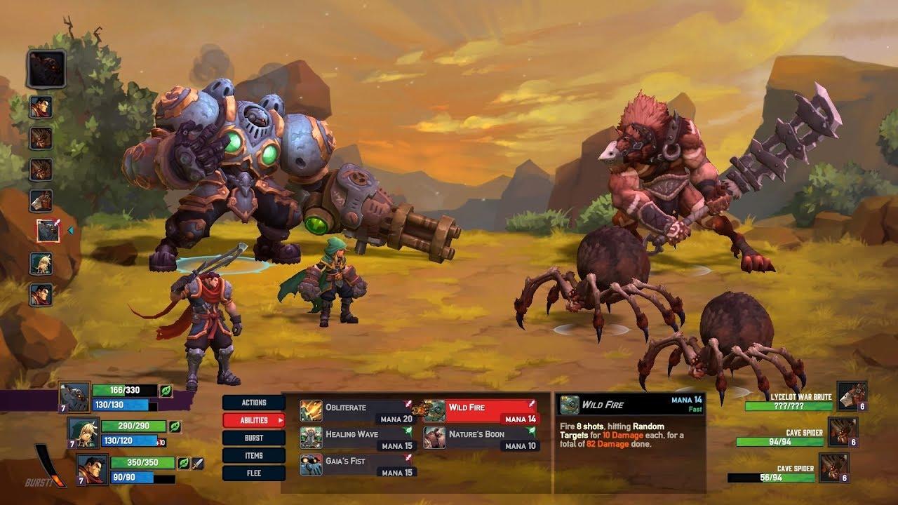 Battle Chasers Nightwar Trainer Free Download