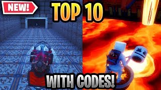 Top 10 Most Fun Season 8 Creative Maps In Fortnite WITH CODES!
