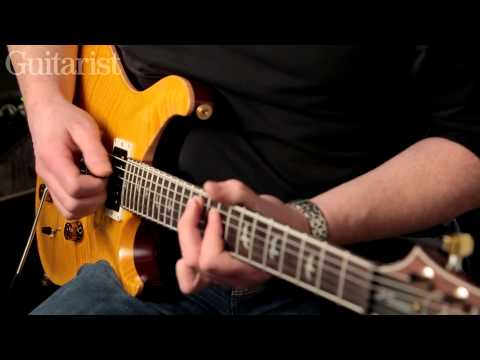 PRS 30th Anniversary Custom 24 electric guitar review demo