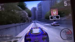 (自錄)3DS-實感賽車3D 遊玩影片