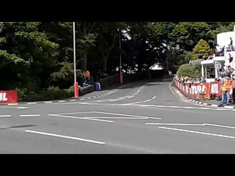Senior TT Race Isle of Man 2017 09.06.2017 (1st and 2nd Laps)