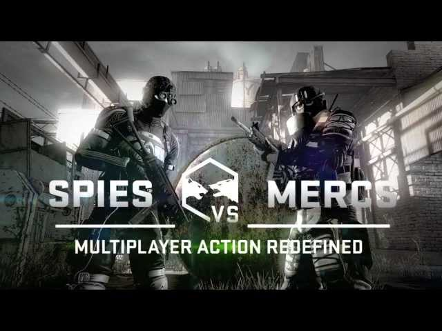 Splinter Cell Blacklist Spies vs Mercs Reveal Trailer