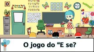 """Portuguese   O jogo do """"E se? - Meu corpo é meu corpo  programa"""