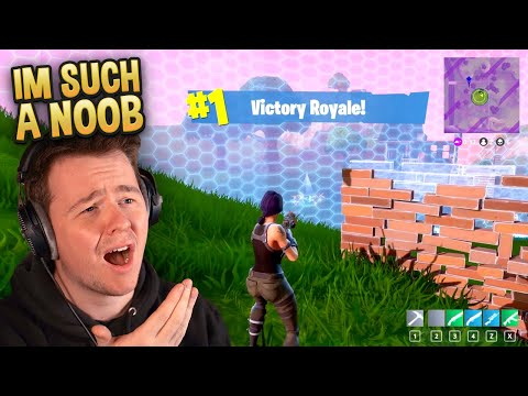 Reacting To My FIRST GAME Of Fortnite (Season 1)