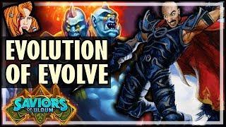 THE EVOLUTION OF EVOLVE SHAMAN - Saviors of Uldum Hearthstone