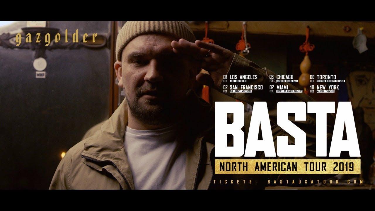 Баста - Америка, салют! (North American Tour 2019)