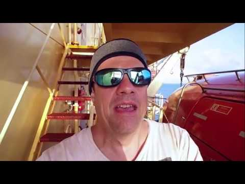 Maersk Container Ship- Vlog #16 (USA Coast)