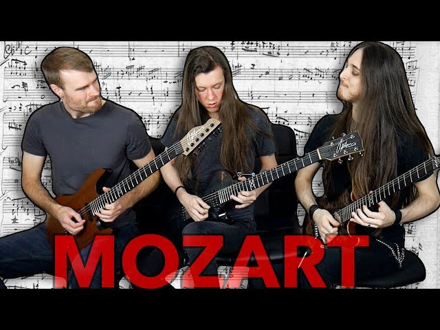 3 guitarists play Mozarts Rondo Alla Turca (w/ bloopers)