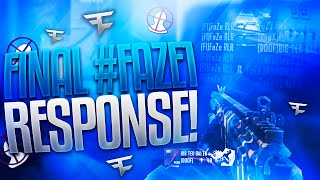 Red Ruler - Final #FAZE1 Response (WON)