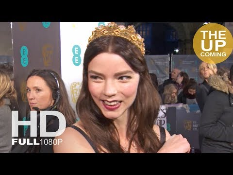 Anya Taylor-Joy interview on Time's Up, female empowerment at BAFTAs