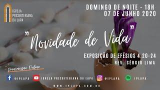Exposição bíblica: Efésios 4 20 -24 - Novidade de Vida ( Rev. Sérgio Lima )