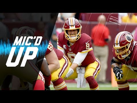 """Kirk Cousins Mic'd Up vs. 49ers """"We Got to Get Some Mojo Going"""" 