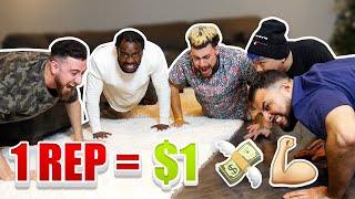 1 Rep = $1 DOLLAR (10,000 PUSH UP CHALLENGE!!)