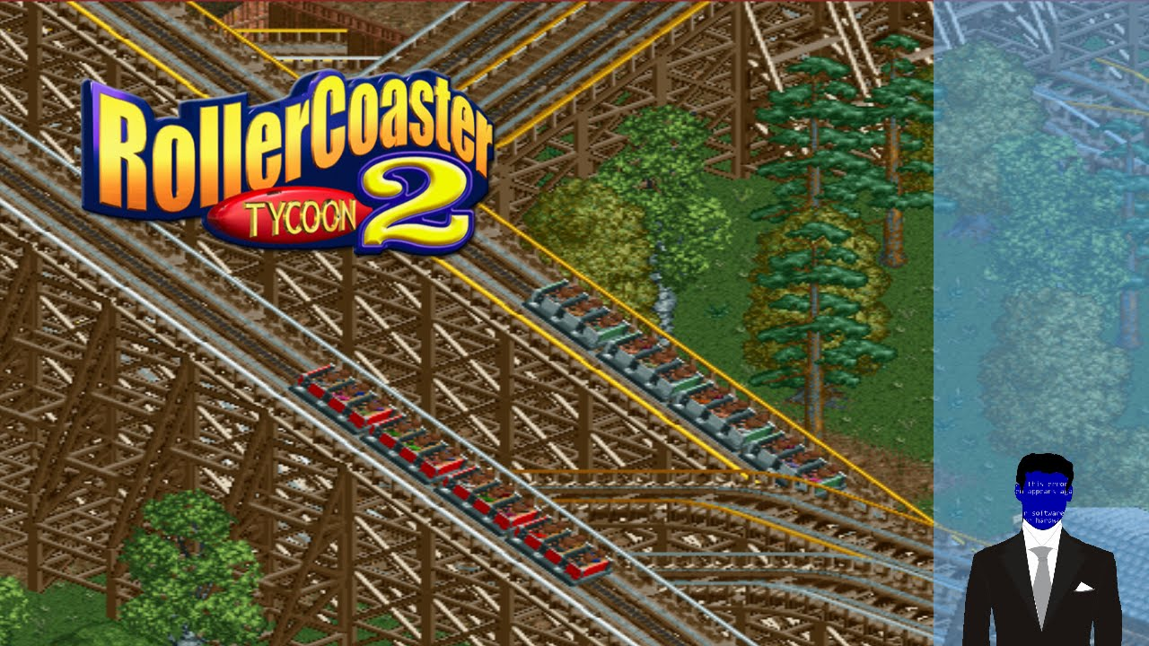 RCT2 - Part 2 - Dueling Wooden Coasters