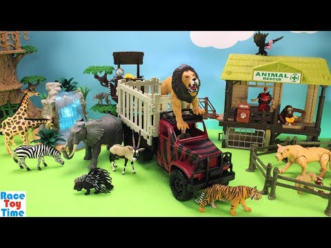 Animal Planet Lion Rescue Transport Playset - Fun Learning Toy For Kids